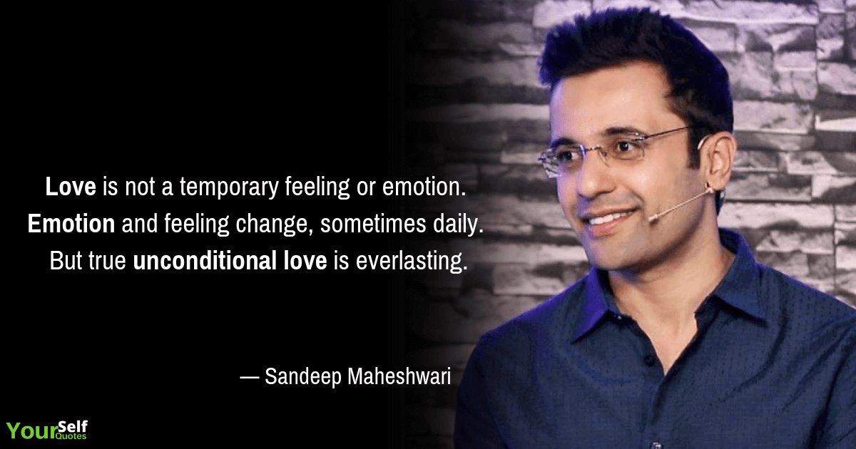 Sandeep Maheshwari Love Quote
