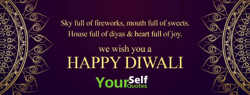 Diwali Wishes Quotes HD Wallpaper