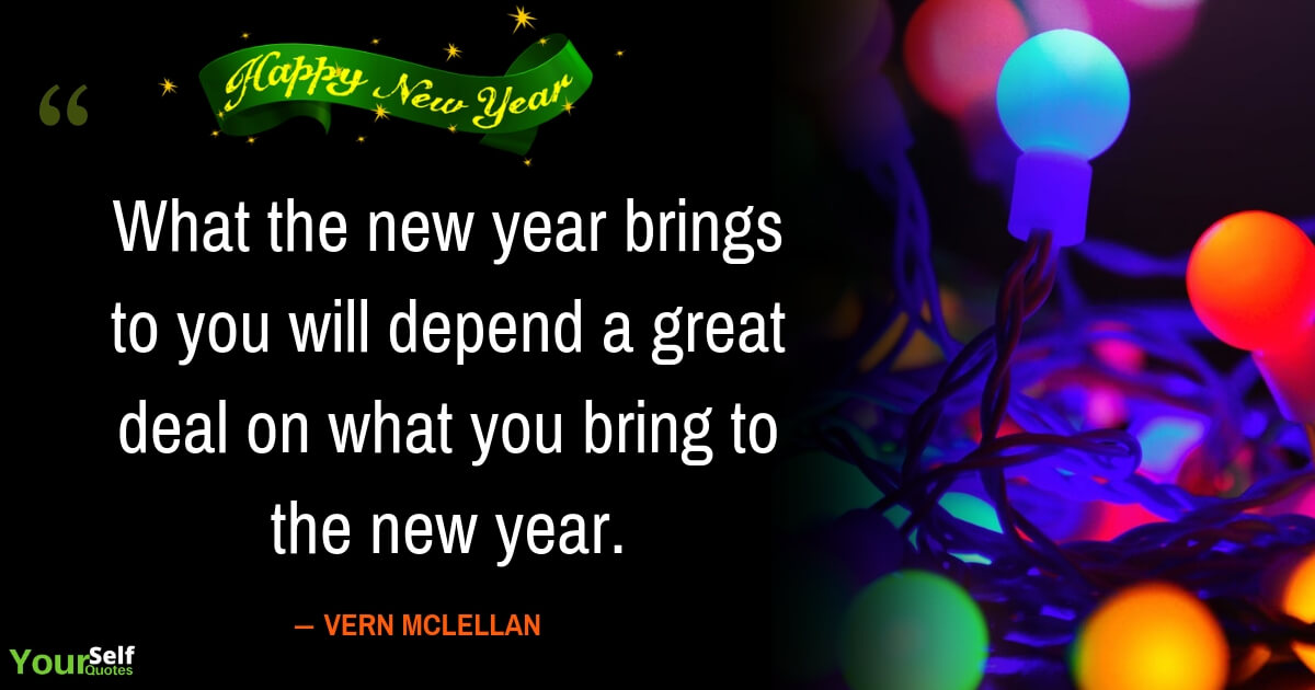 Best New Years Quotes