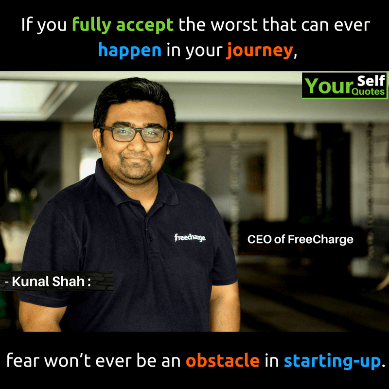 Kunal Shah Quotes Pictures Images