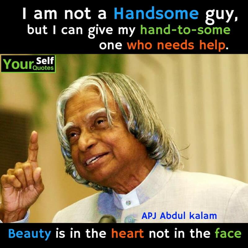 APJ Abdul Kalam Thoughts in English