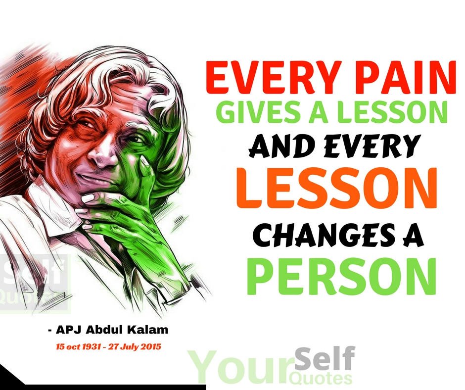 Dr. APJ Abdul Kalam Quotes Words