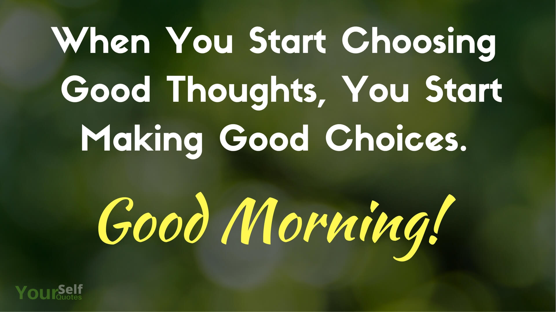 Good Morning Thoughts Images
