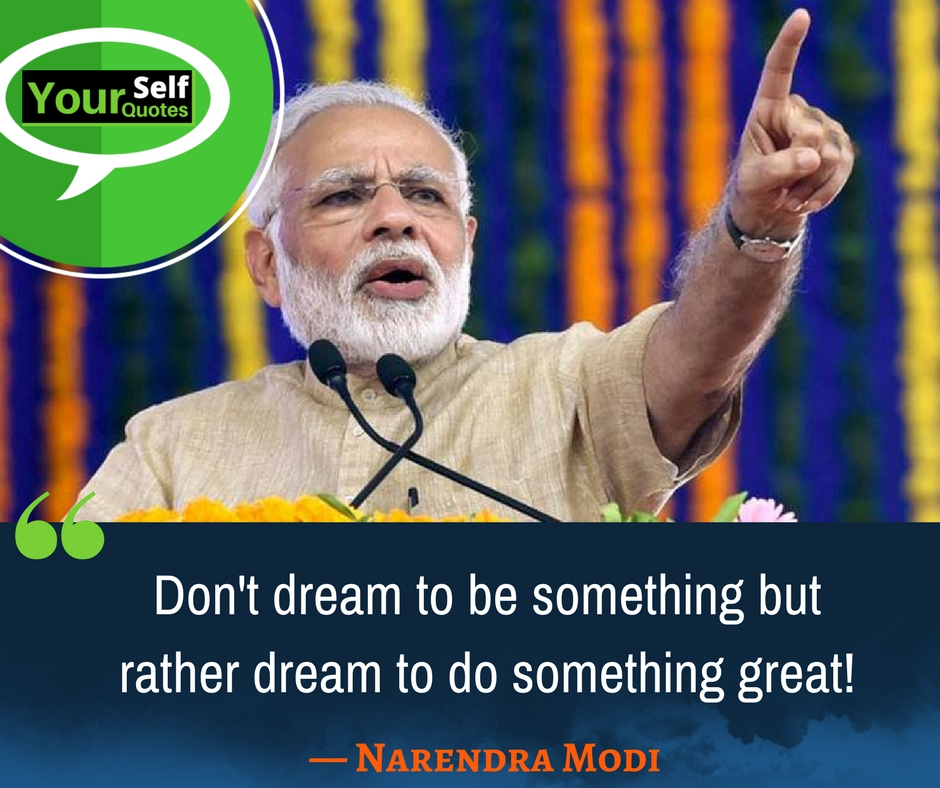 Great Quotes Of Narendra Modi