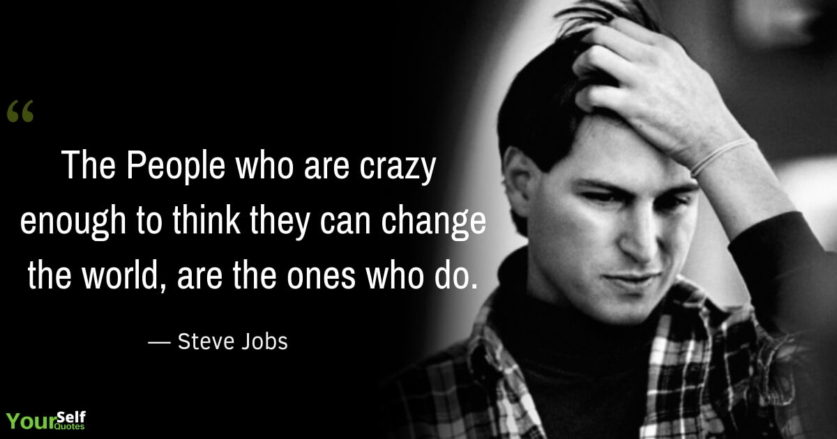 Motivational Quote by Steve Jobs