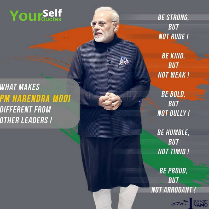 Quote of Narendra Modi