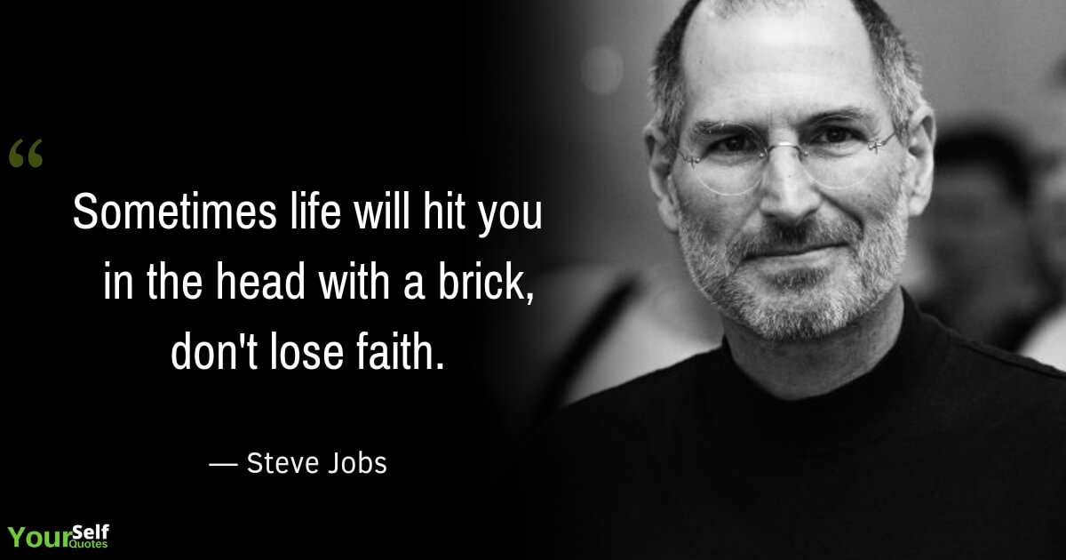 Steve Jobs Life Quote Images