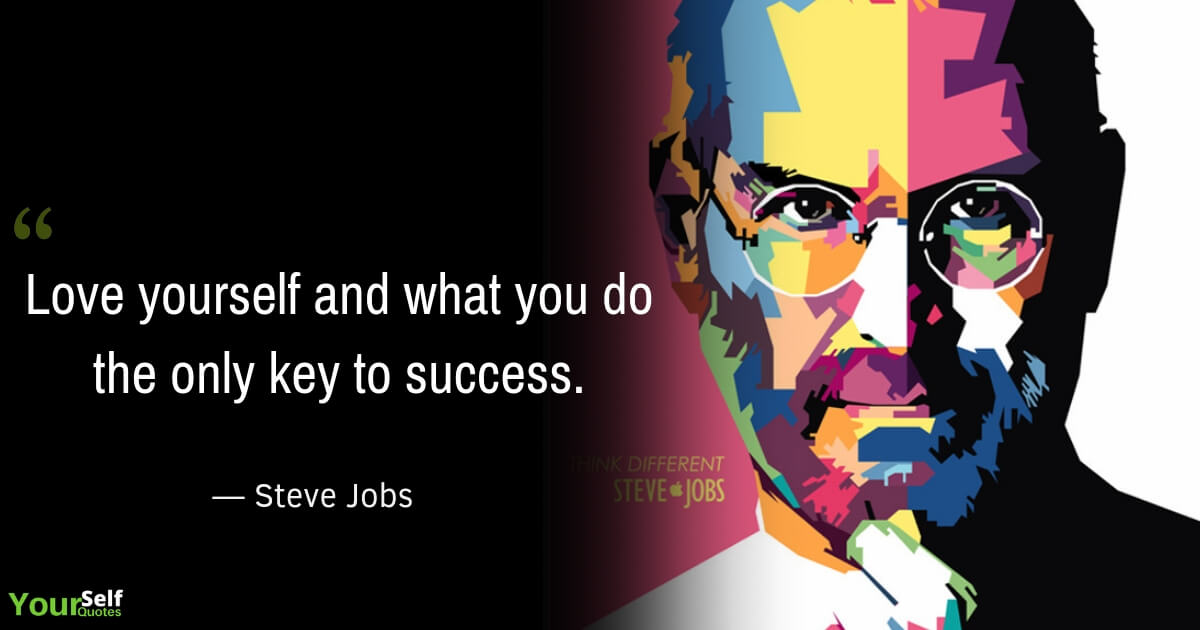 Steve Jobs Quote on Love