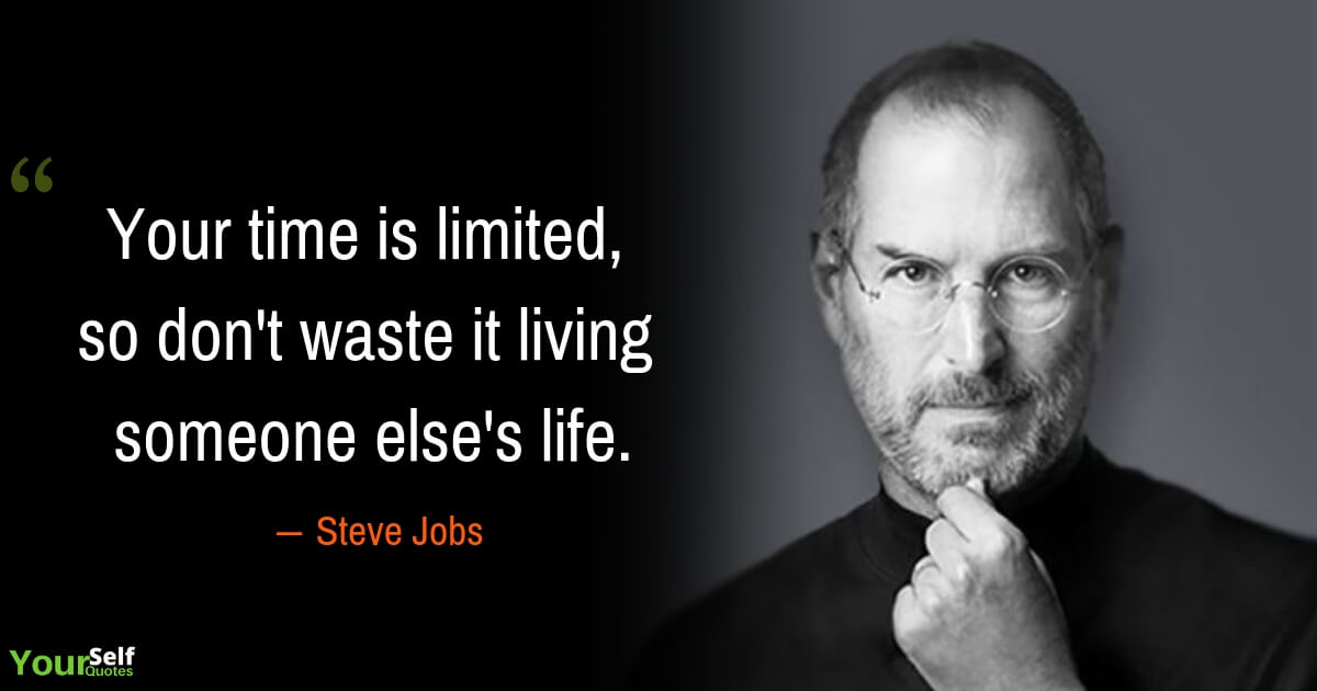 Steve Jobs Quotes on Time