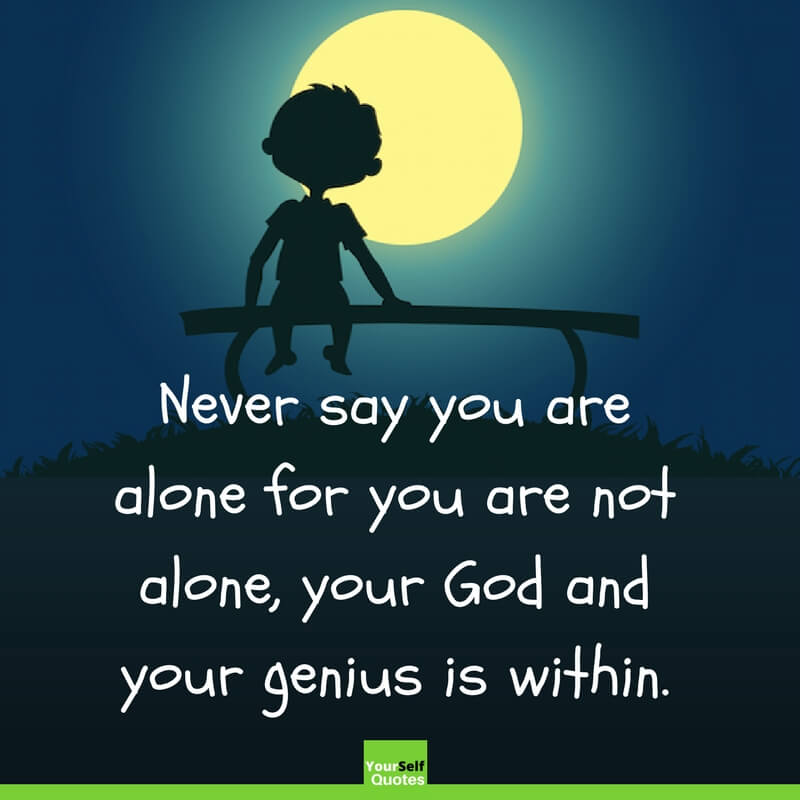 Feeling Alone Quotes Status For Whatsapp Facebook With Images