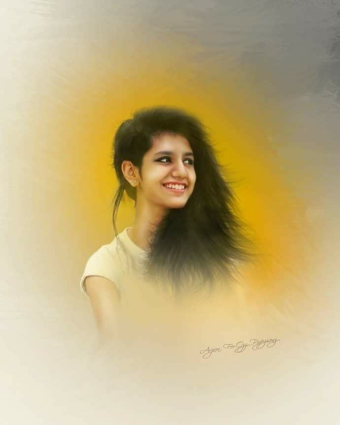 Priya Prakash Varrier HD Photo