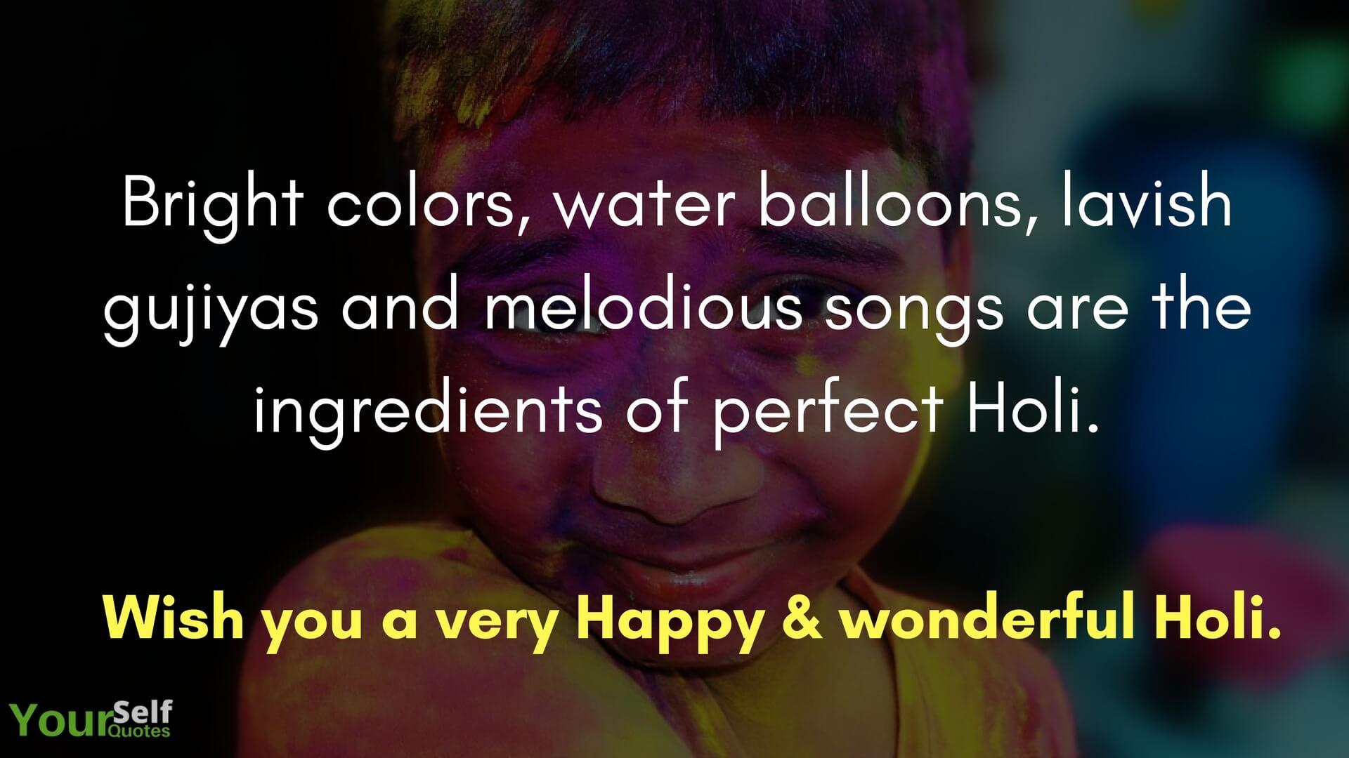 Semoga Anda mendapatkan Holi yang Sangat Bahagia