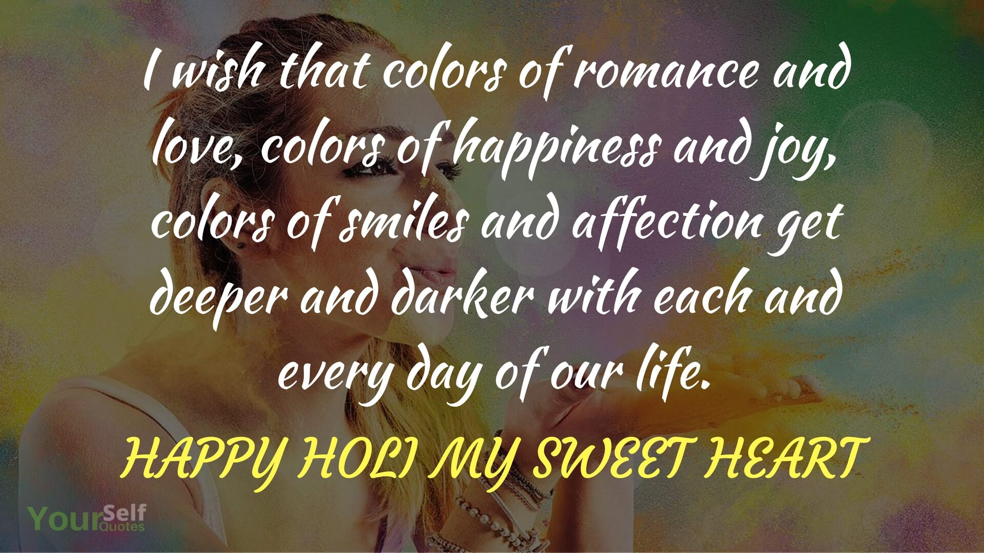 Wishing Holi Images Download
