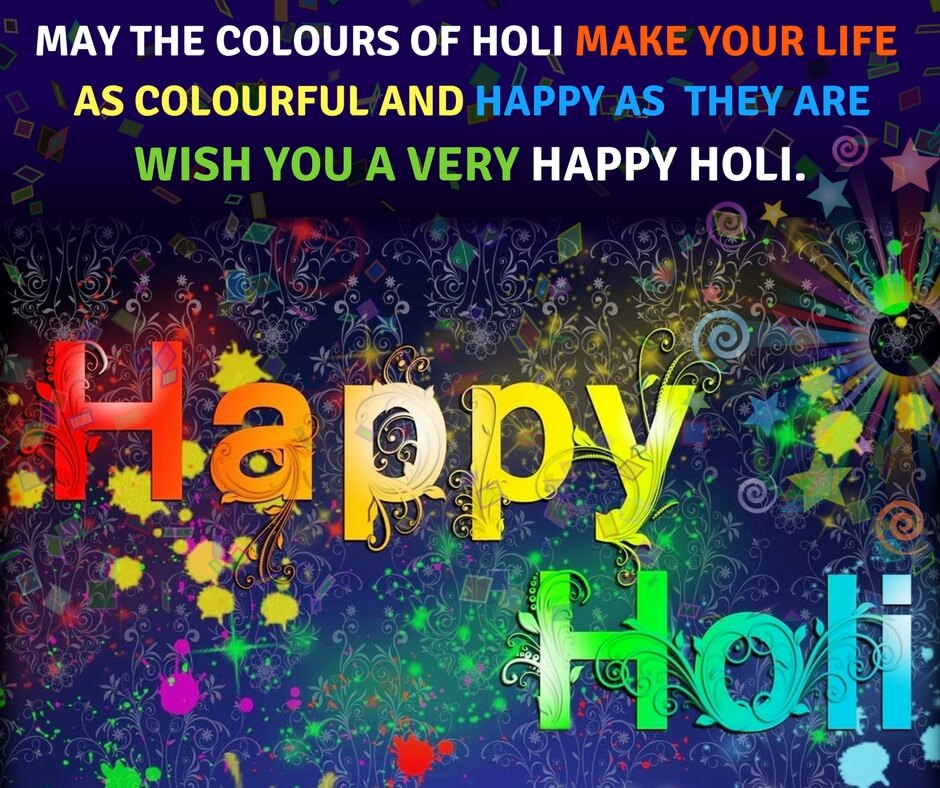 Happy Holi 2020 Wishes In Hindi And Quotes To Make Your Life Colorful