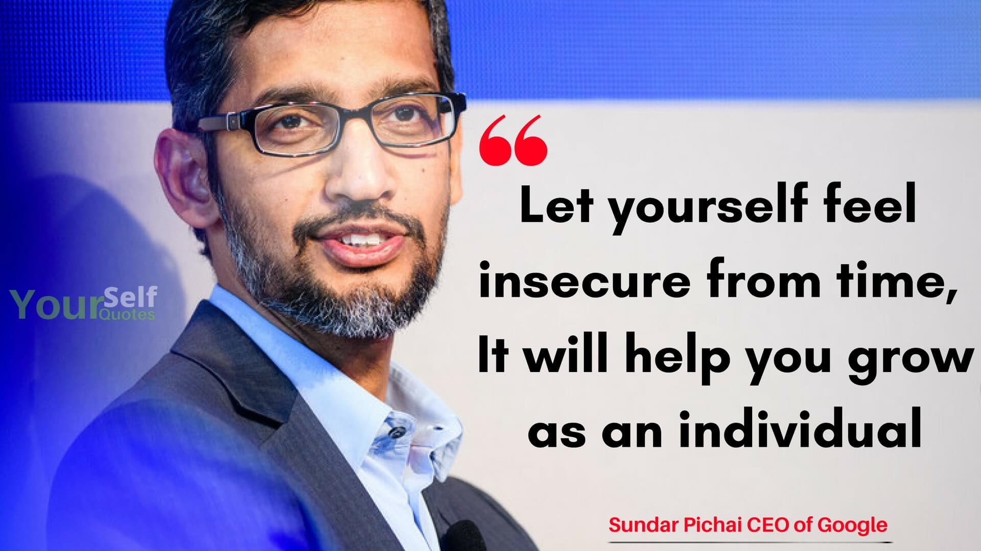 Best Sundar Pichai Quotes