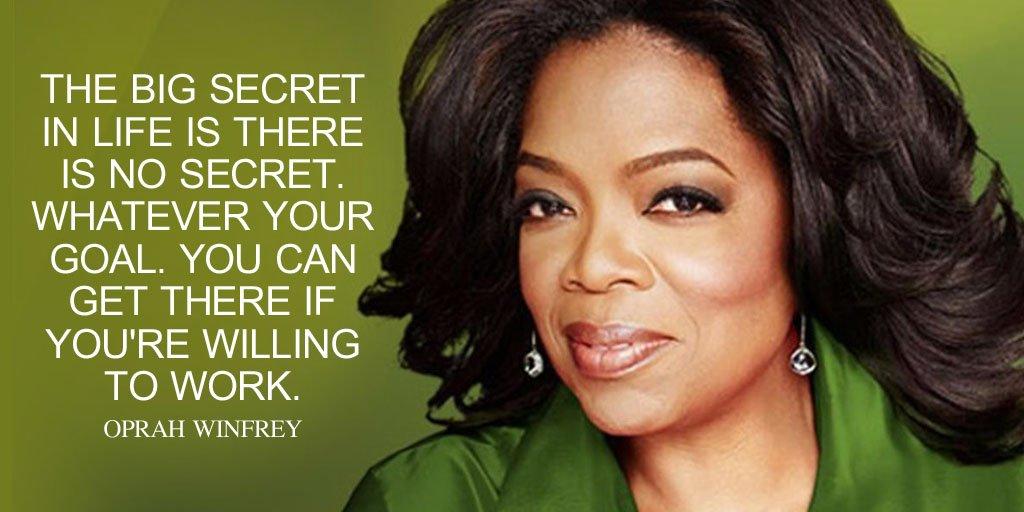 Gambar Kutipan Oprah Winfrey tentang pekerjaan