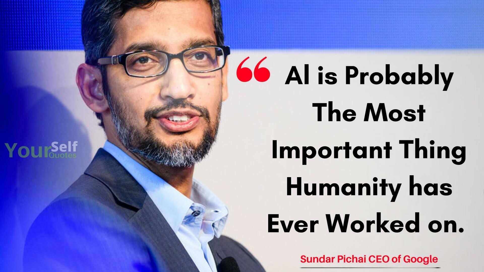 Sundar Pichai Quote on Life