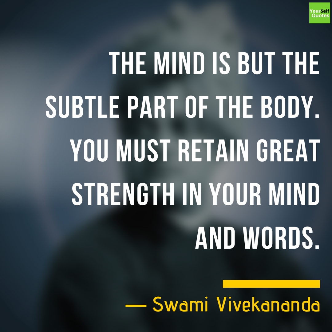 Inspirational Quotations by Swami Vivekananda