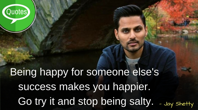 Jay Shetty Happy Quotes