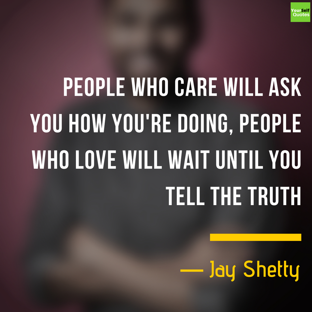 Jay Shetty Quotes Images Photos