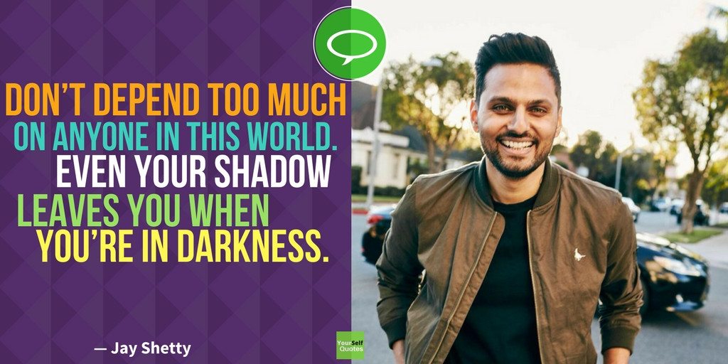 Jay Shetty Words Quotes