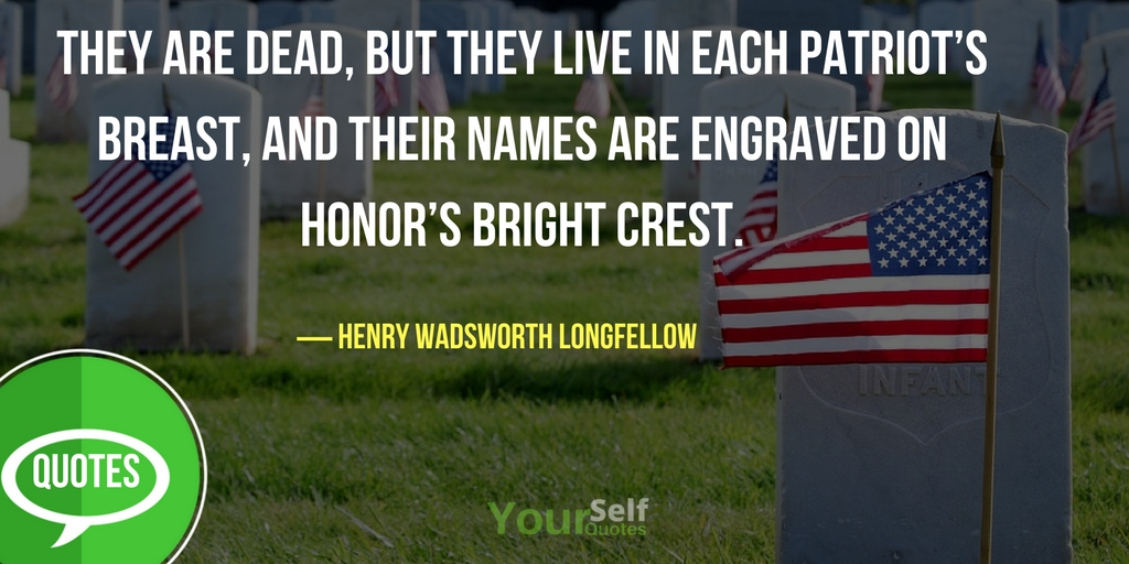 Memorial Day Quotes About Life