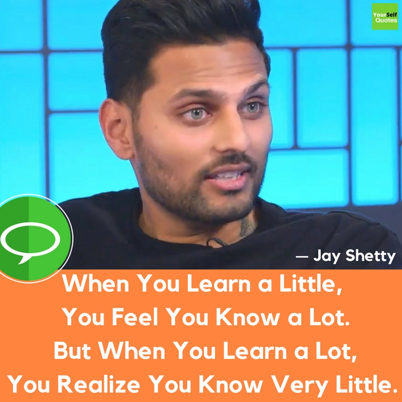 New Jay Shetty Quote
