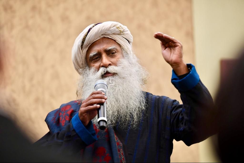 Sadhguru motivational speaker