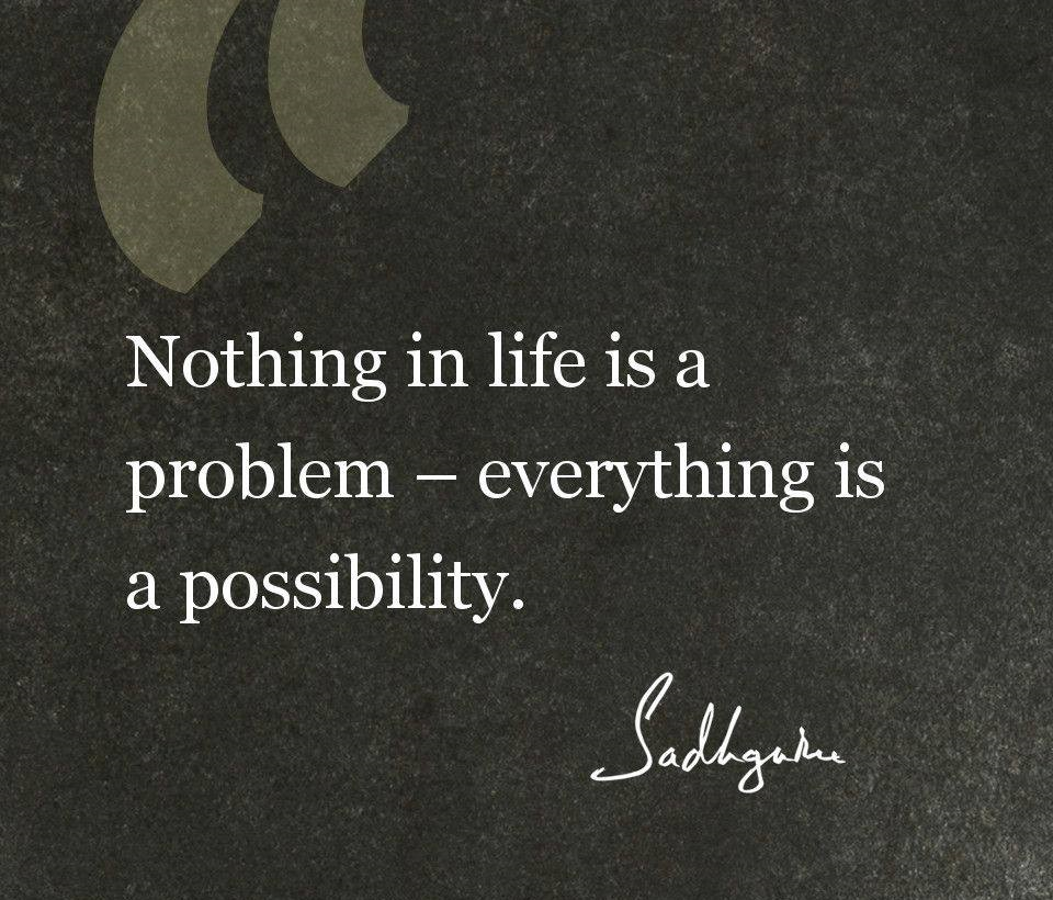 Sadhguru Quote on Life Thoughts