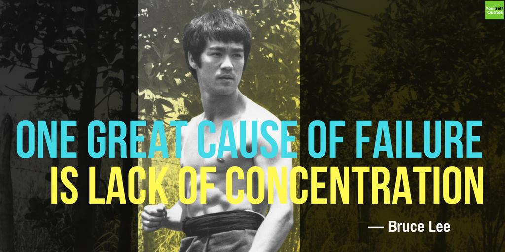 Bruce Lee Quote on Failure