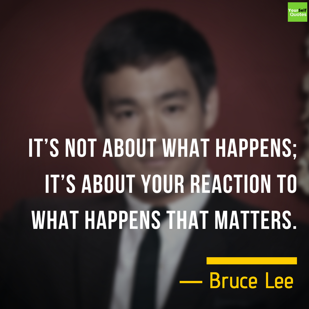 Bruce Lee Quotes Images on Happiness