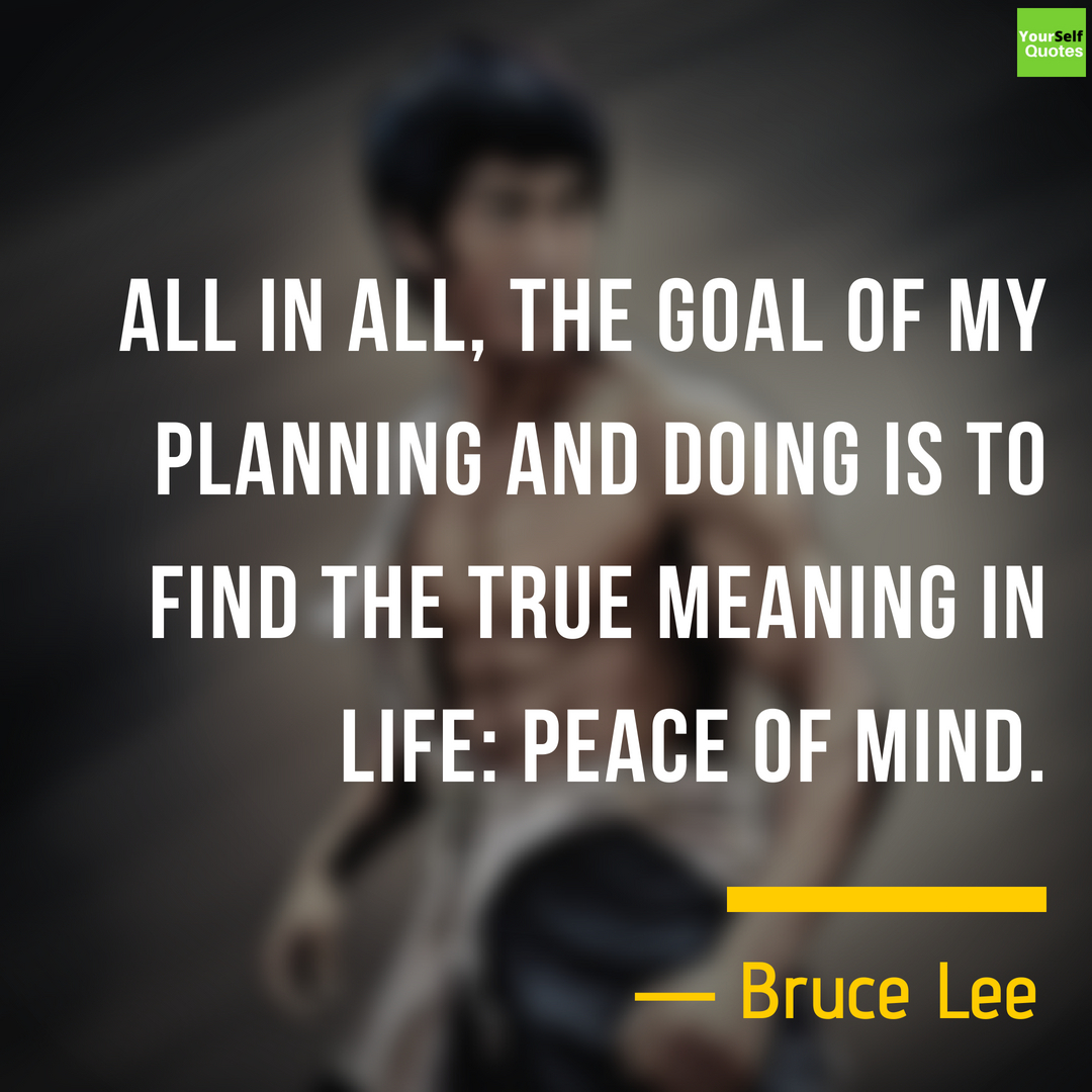 Motivational Bruce Lee Quote Images