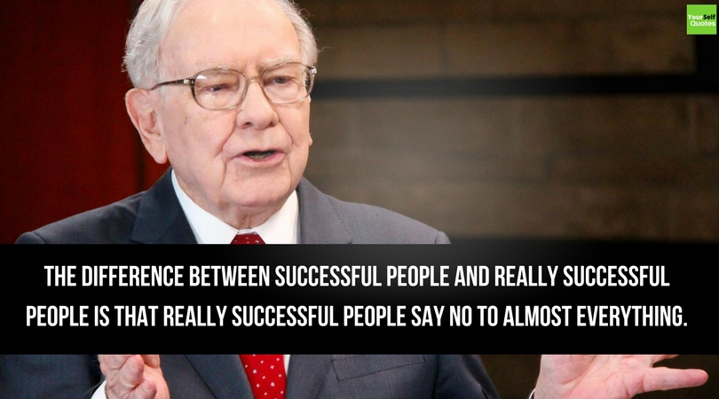 Warren Buffett Quotes on Successful