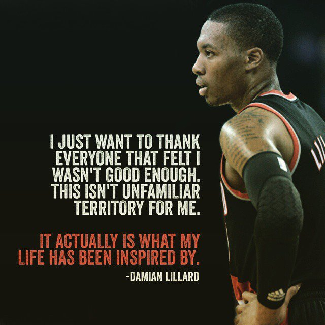 Damian Lillard Quotes