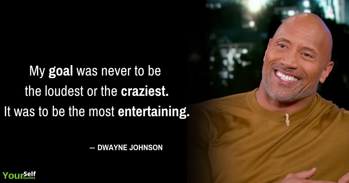 Dwayne Johnson Quotes Images