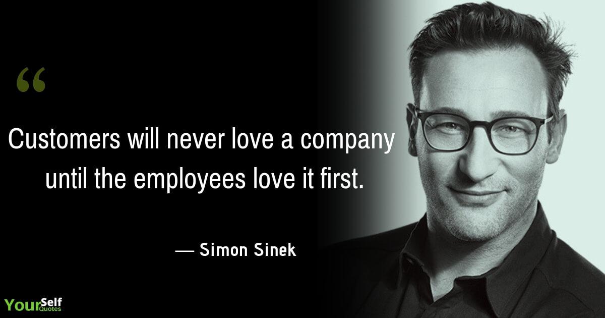 Simon Sinek Love Quotes Images