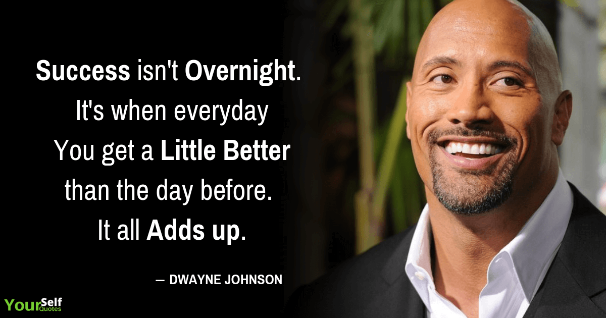 Success Quotes by Dwayne Johnson