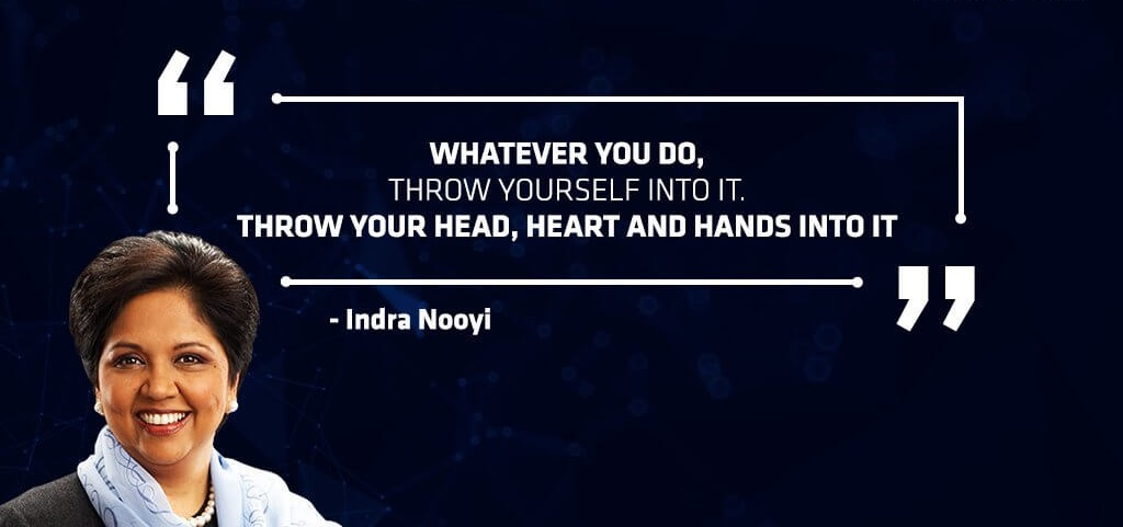 Indra Nooyi Entrepreneur Quote