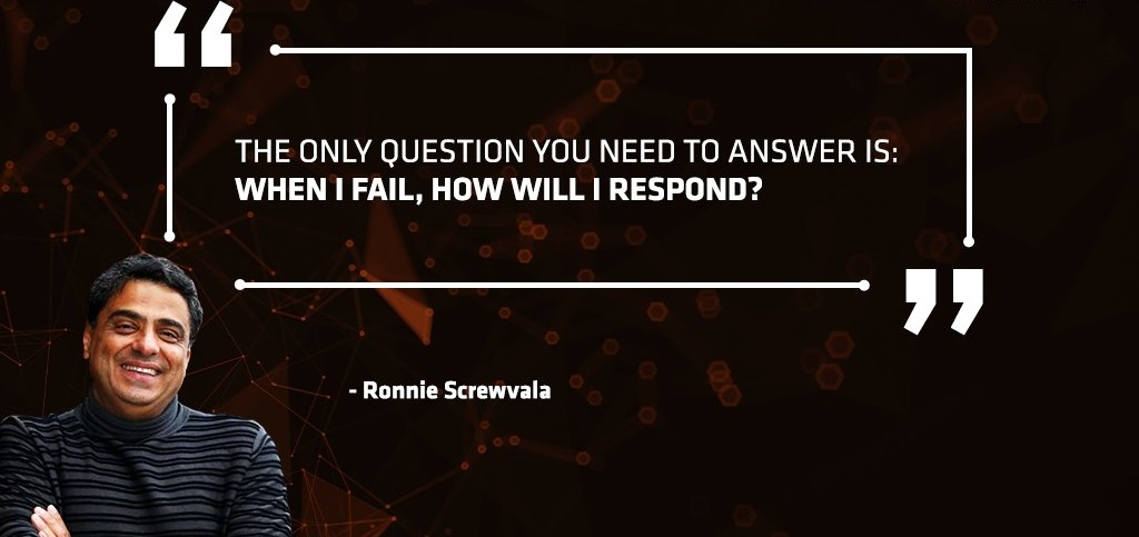 Ronnie Screwvala Entrepreneur Quotes