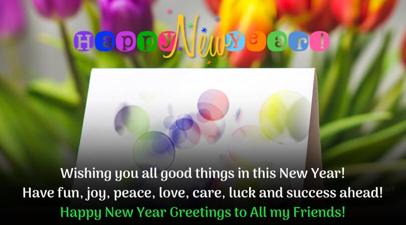 happy new year greetings images new
