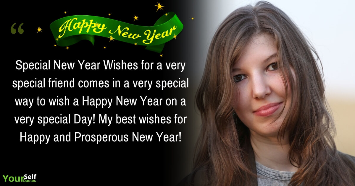 New Year Greeting For Friends