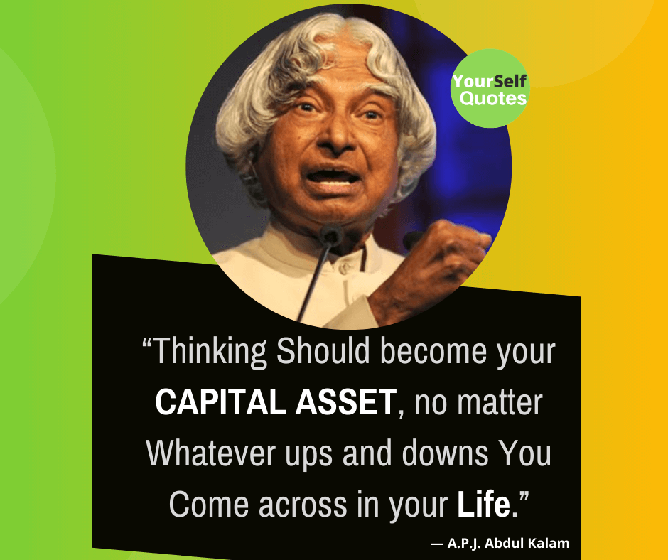 APJ Abdul Kalam Life Quotes Images