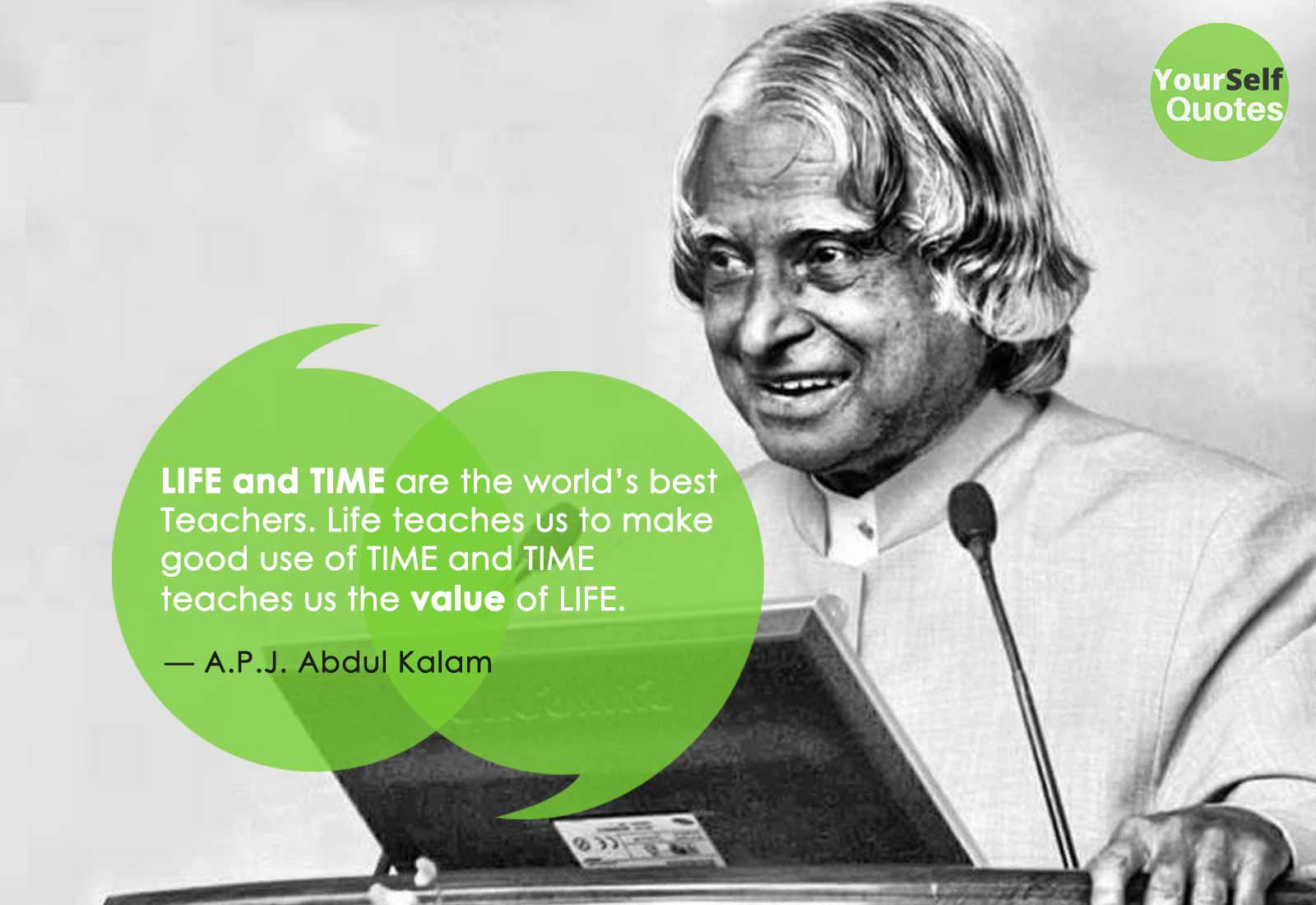 Abdul Kalam Quotes on Life