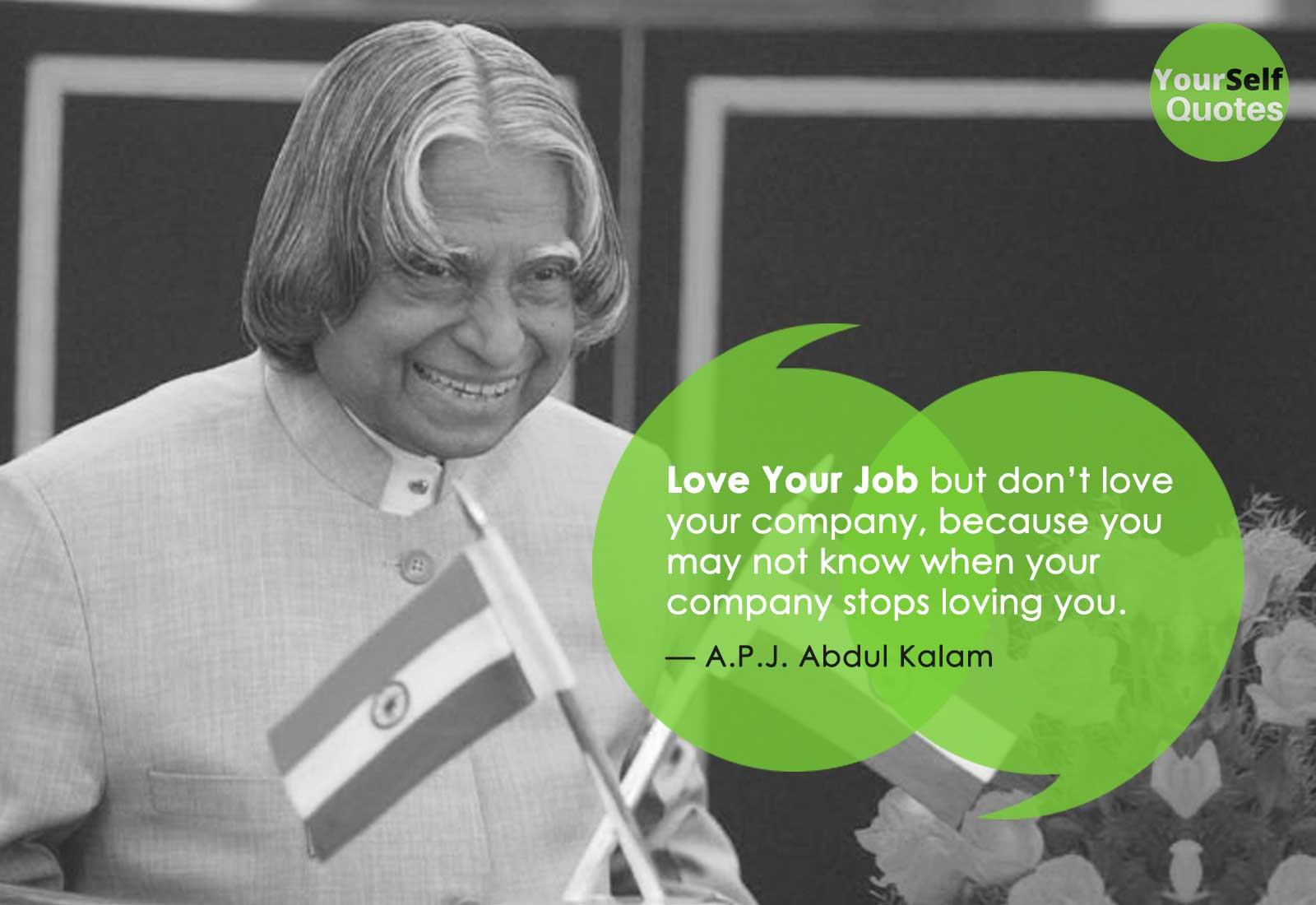 PJ Abdul Kalam Quote on Love