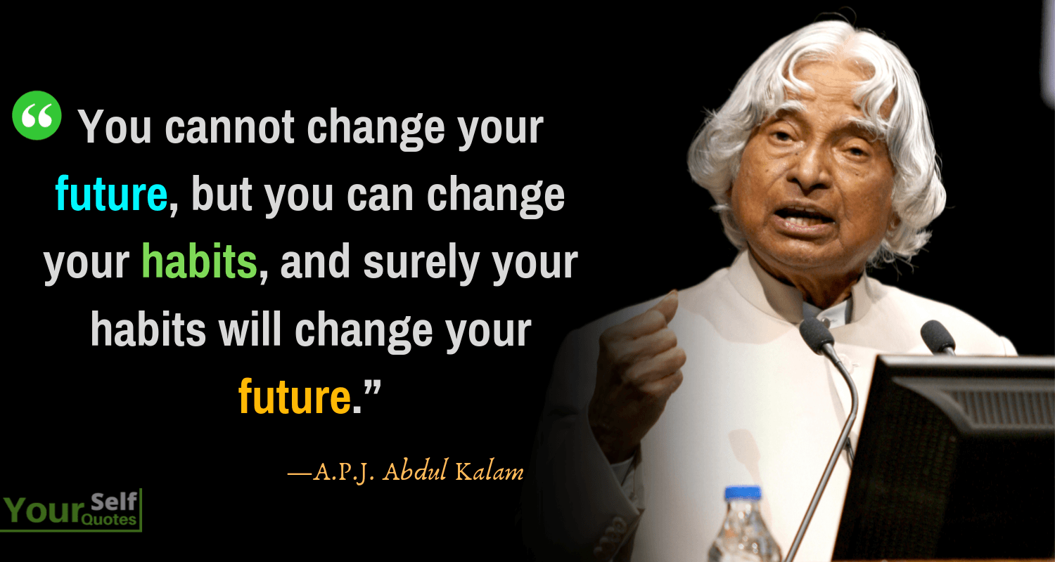 Best APJ Abdul Kalam Quotes