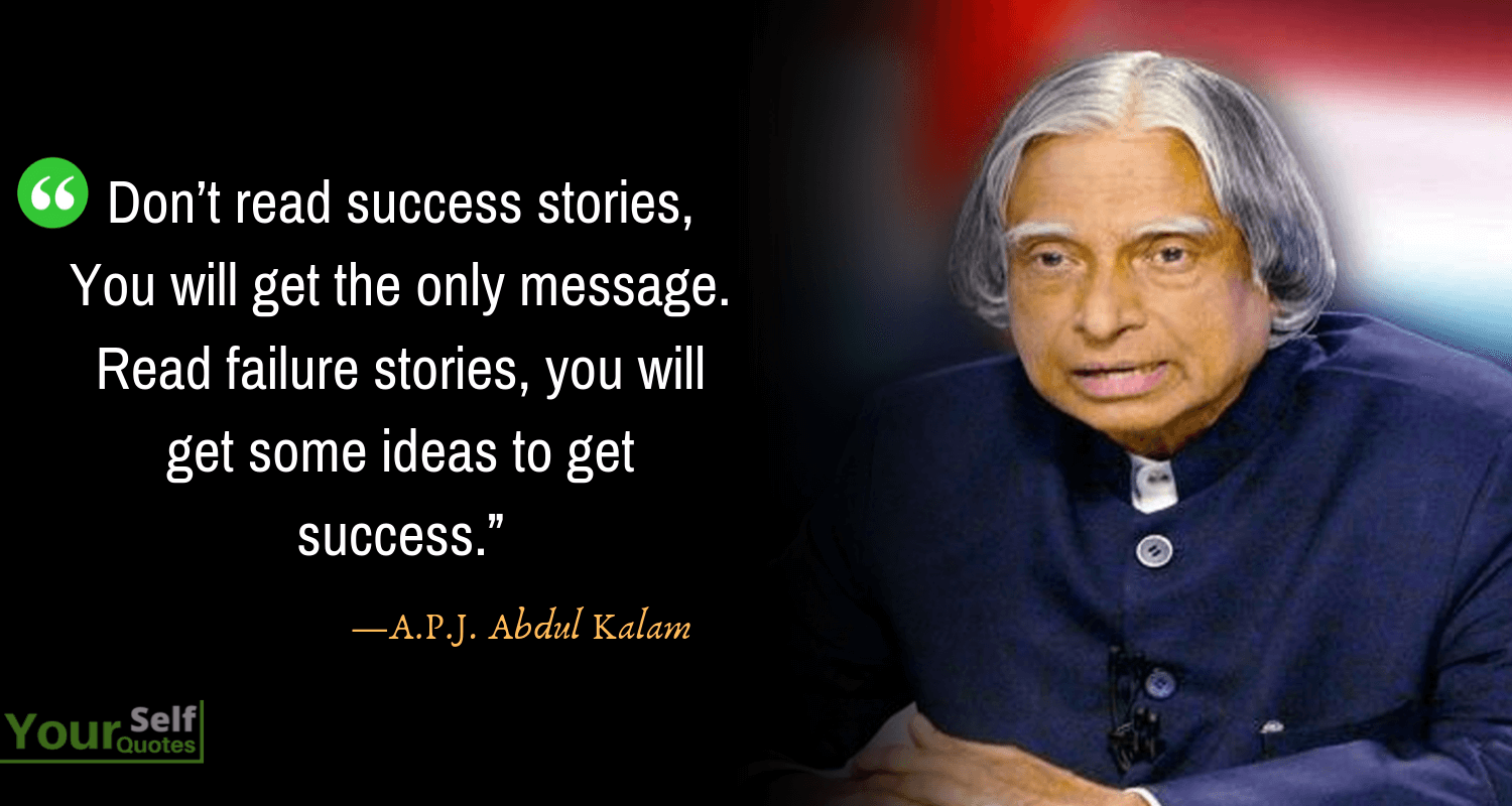 APJ Abdul Kalam Quote on Success