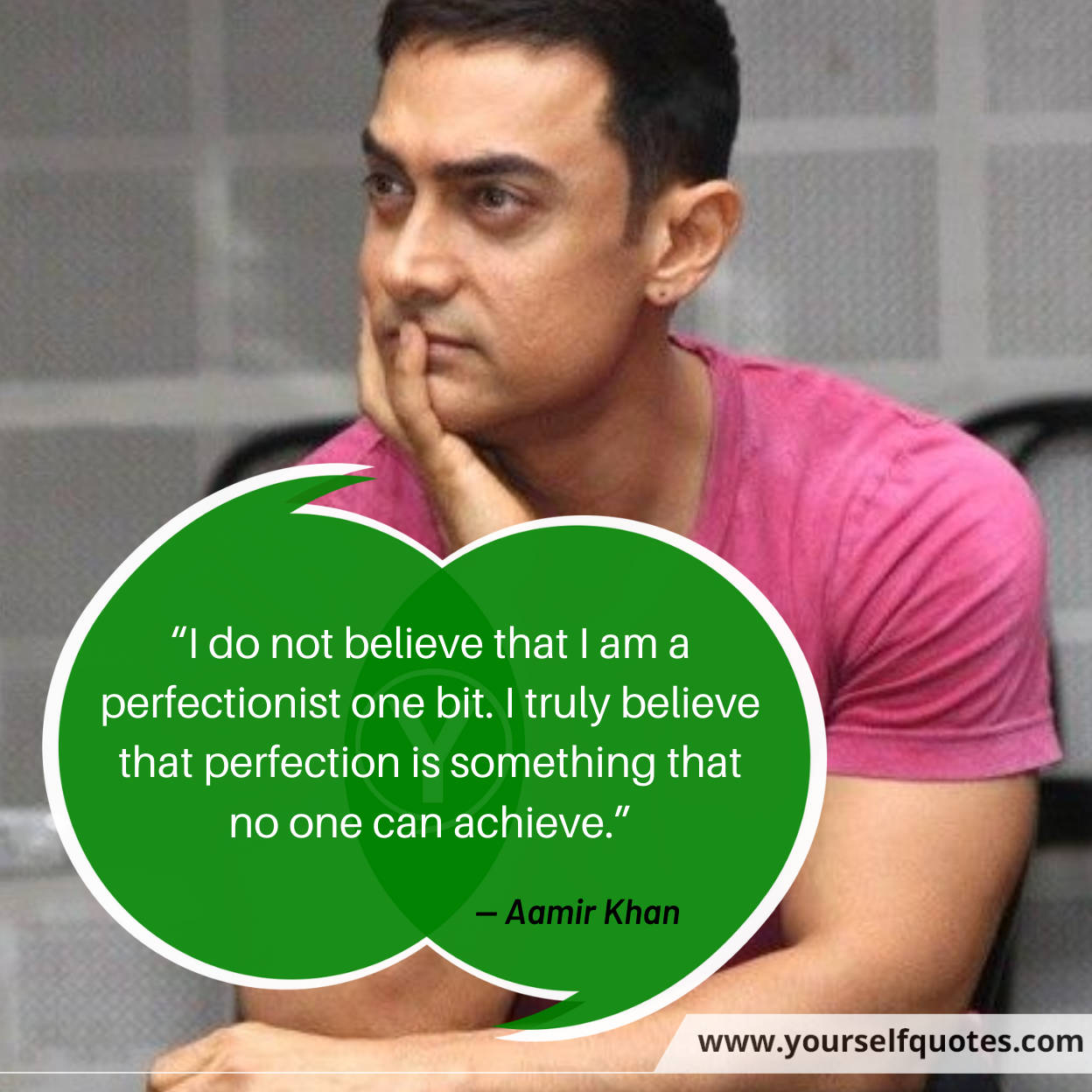 Aamir Khan Life Quotes Images
