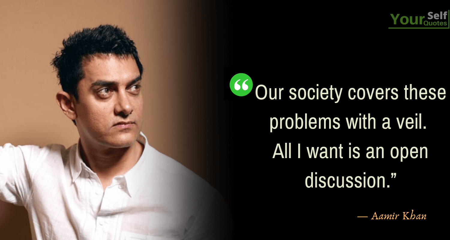 Aamir Khan Quotes Thoughts