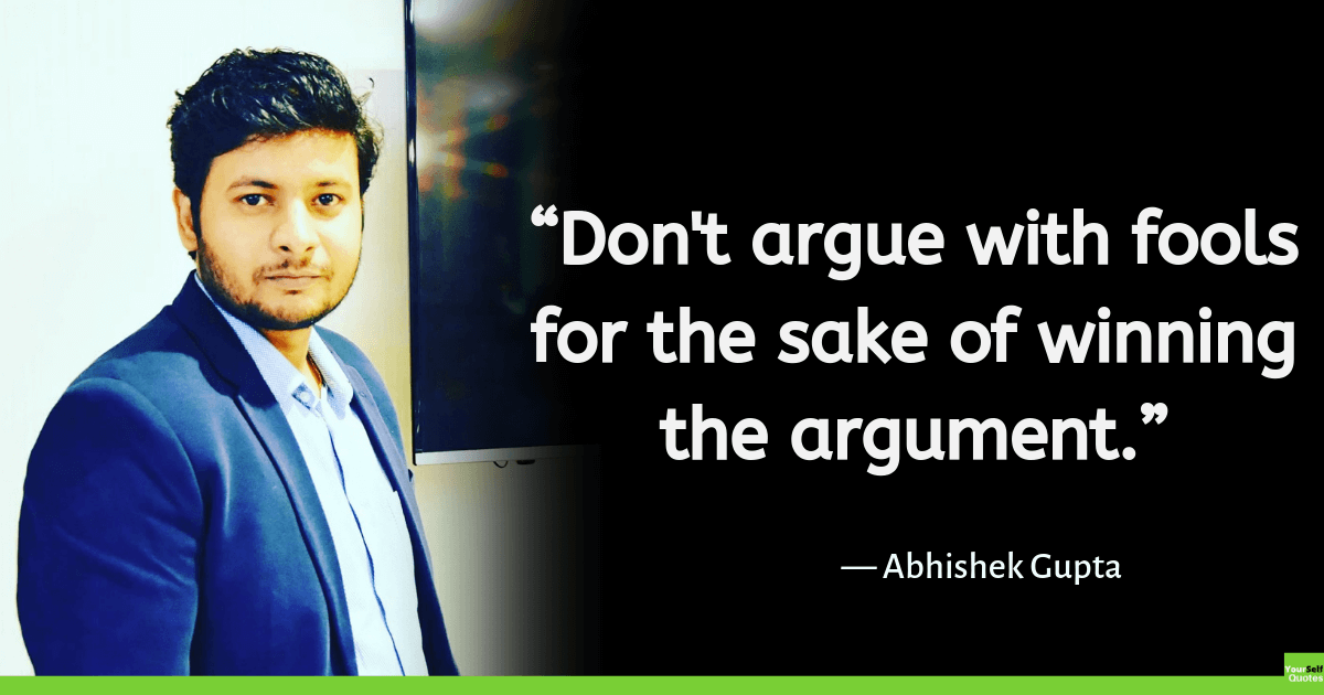 Abhishek Gupta Quotes Images