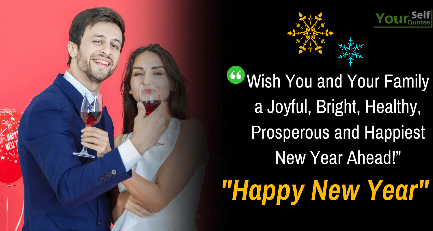Advance Happy New Year Wishes For Family